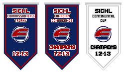 Fredericton Express Franchise Championship Banners