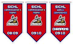 London Monarchs Franchise Championship Banners